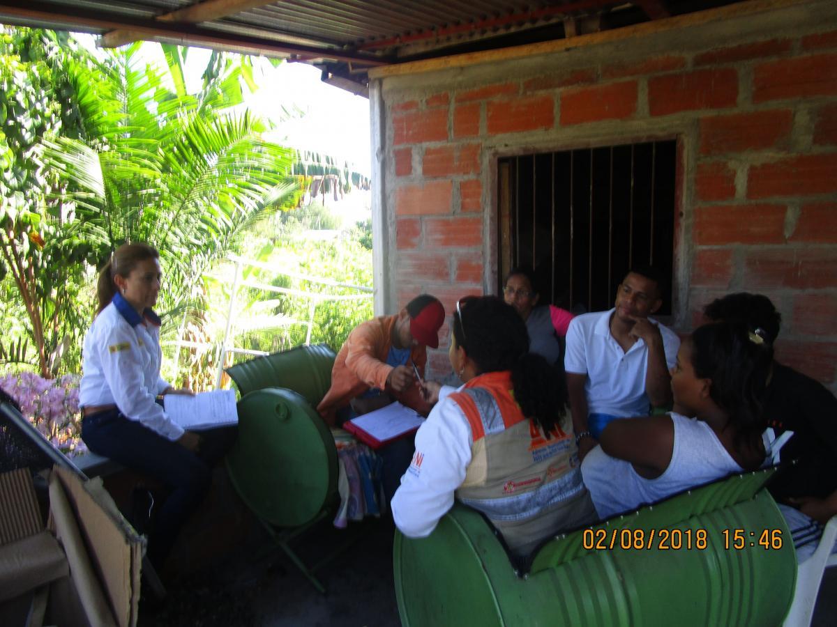 Estrategia de relacionamiento con la comunidad de la vereda de Aterrado, del municipio de Cimitarra en Santander.